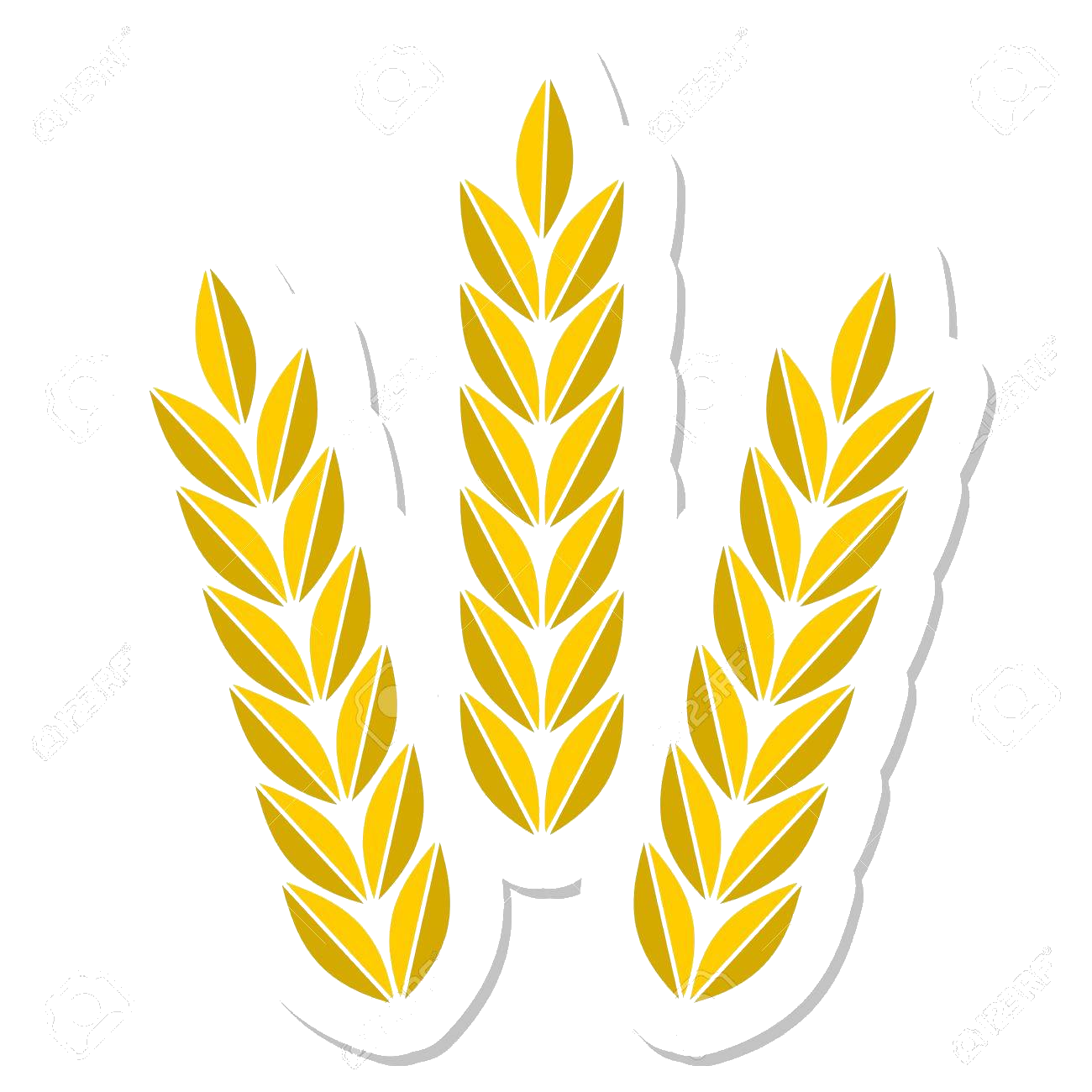 Wheat clipart agriculture. Transparent clip arts and