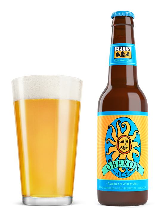 Wheat clipart beer wheat. Oberon ale bell s