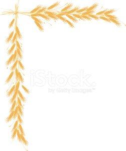 Wheat clipart border. Premium clipartlogo com