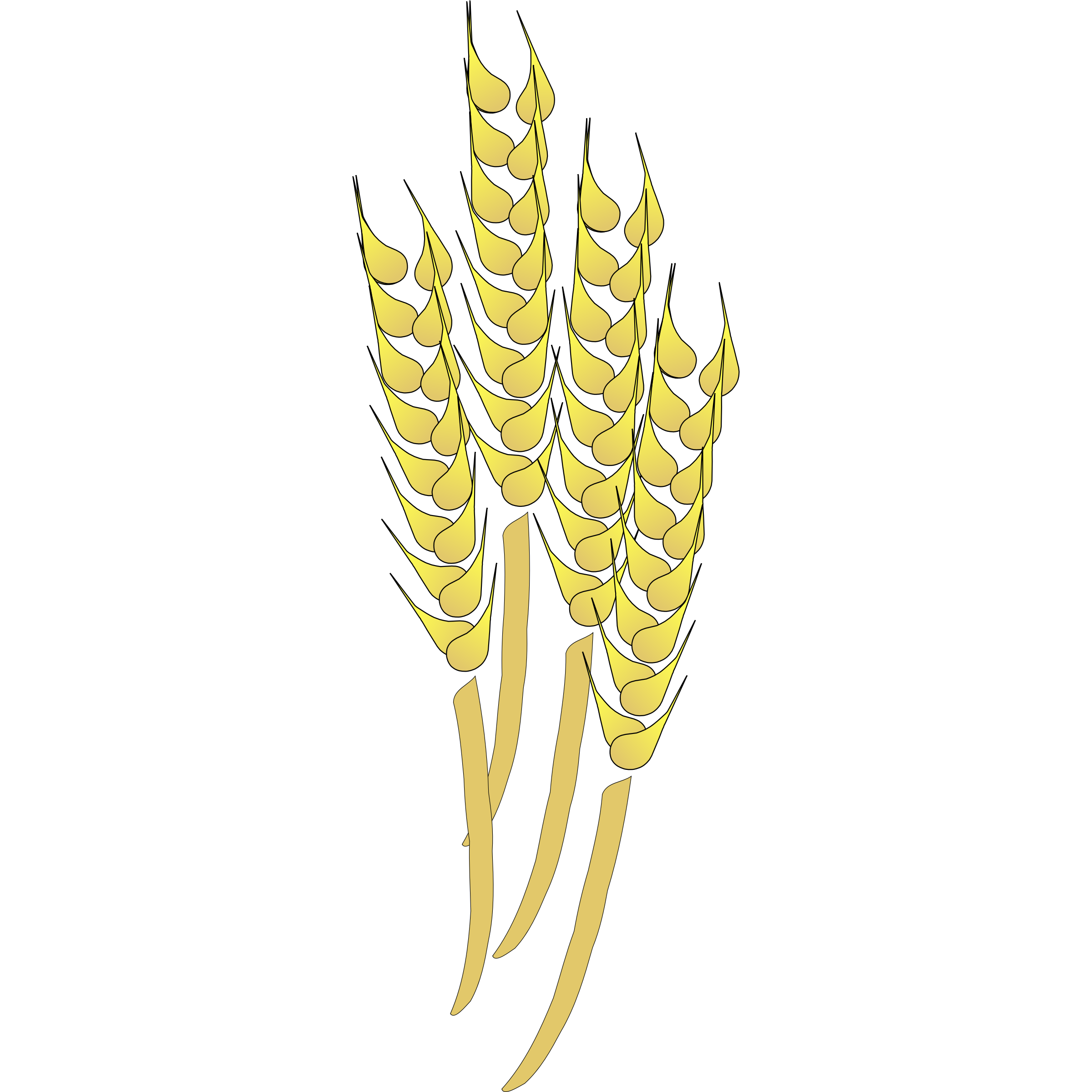 Wheat clipart gold paisley. Stalk free on dumielauxepices