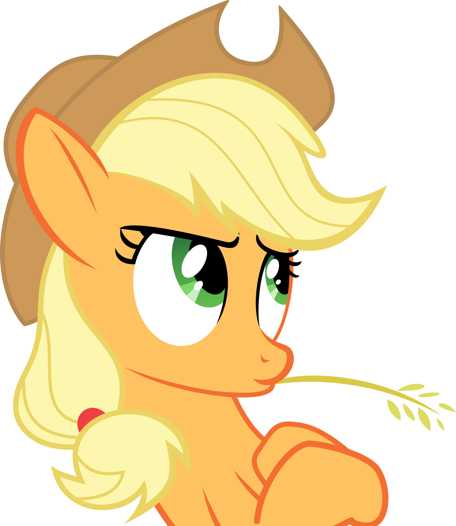 Wheat clipart hay. Image applejack leaning by