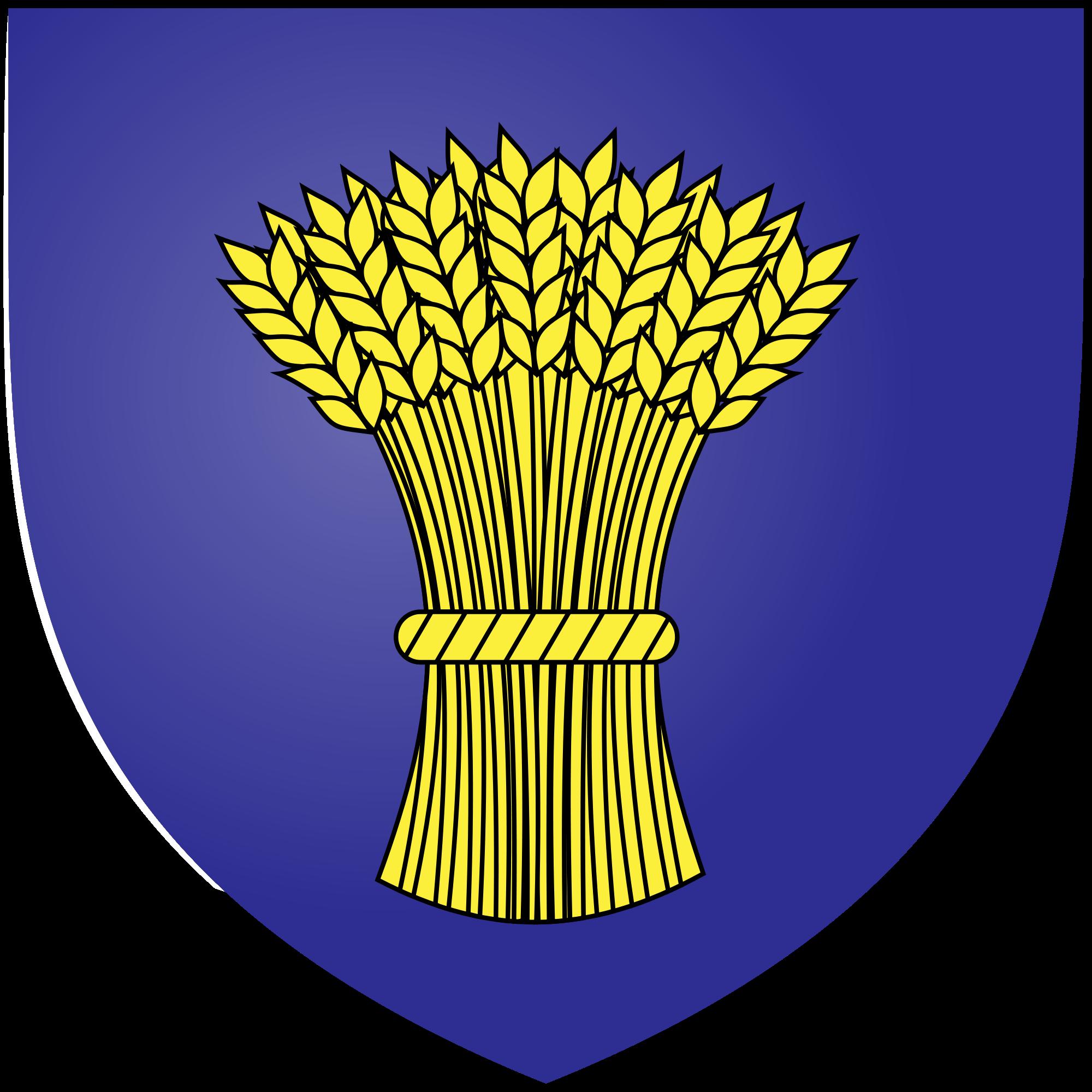 File azure a garb. Wheat clipart heraldic