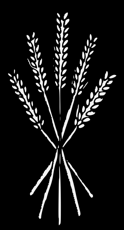 Sheaf traceable art pdf. Wheat clipart heraldic
