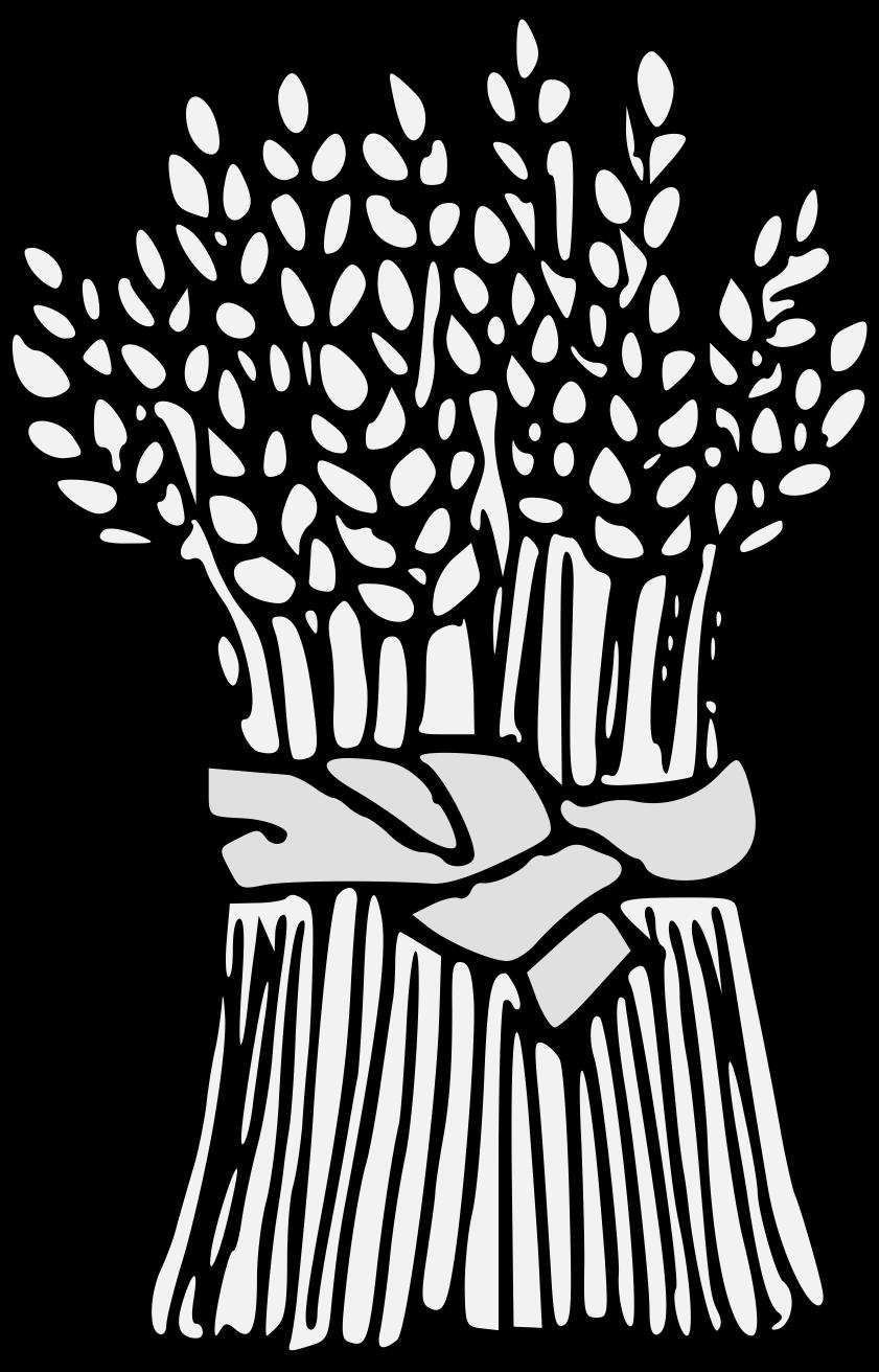 Traceable art pdf. Wheat clipart heraldic