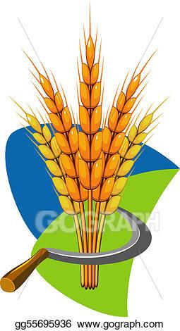 Vector art sheaf of. Wheat clipart jpeg