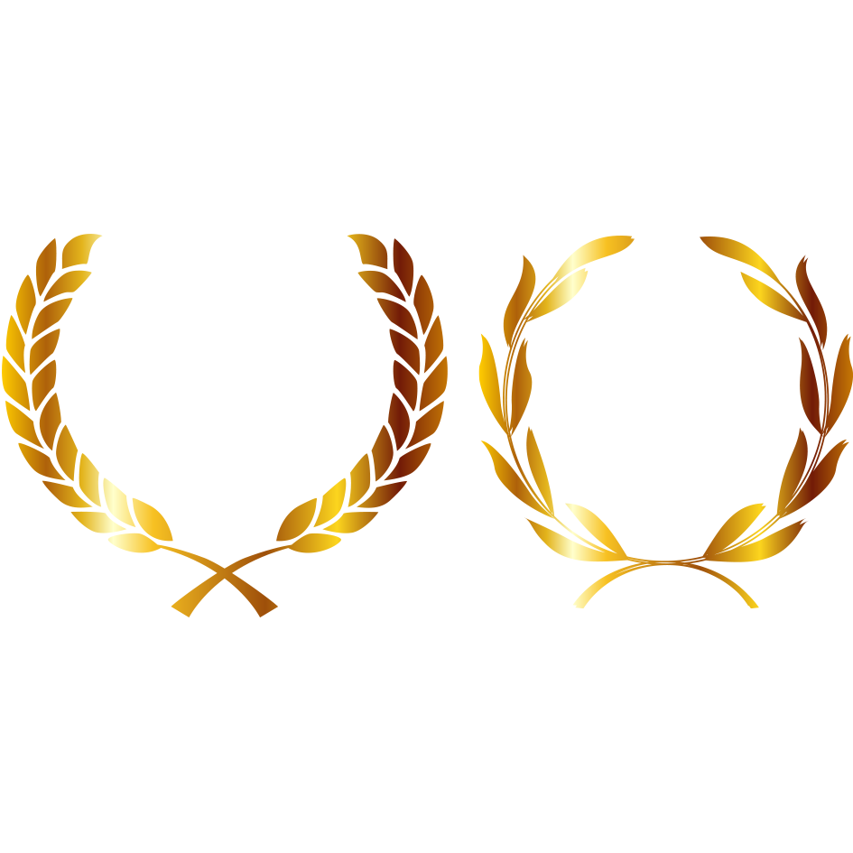 Wheat clipart laurel. Medal crown gold wreath