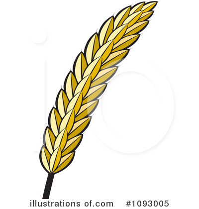 Wheat clipart piece wheat. Illustration by lal perera