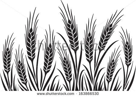 Pin on shop . Wheat clipart rye