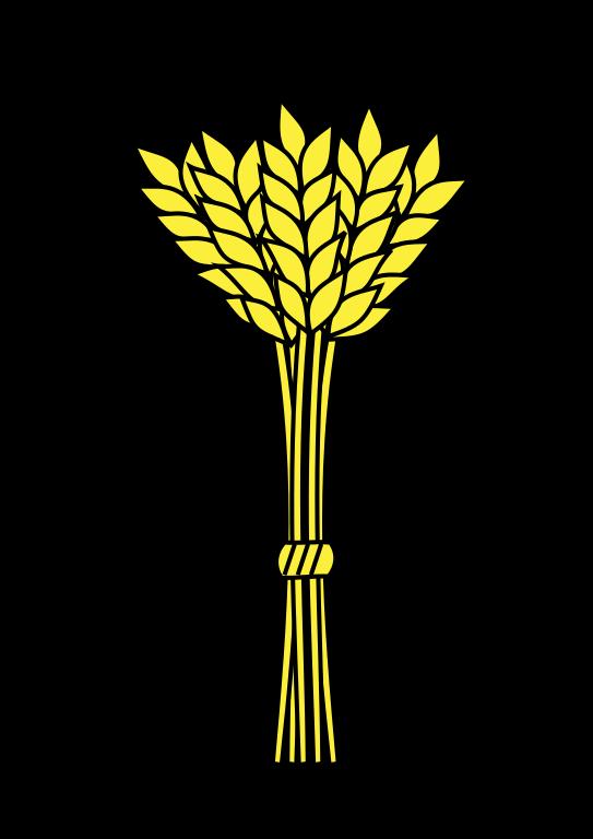 File gerbe bl rameaux. Wheat clipart sheaf wheat