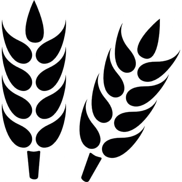Wheat clipart simple. Icon free icons library