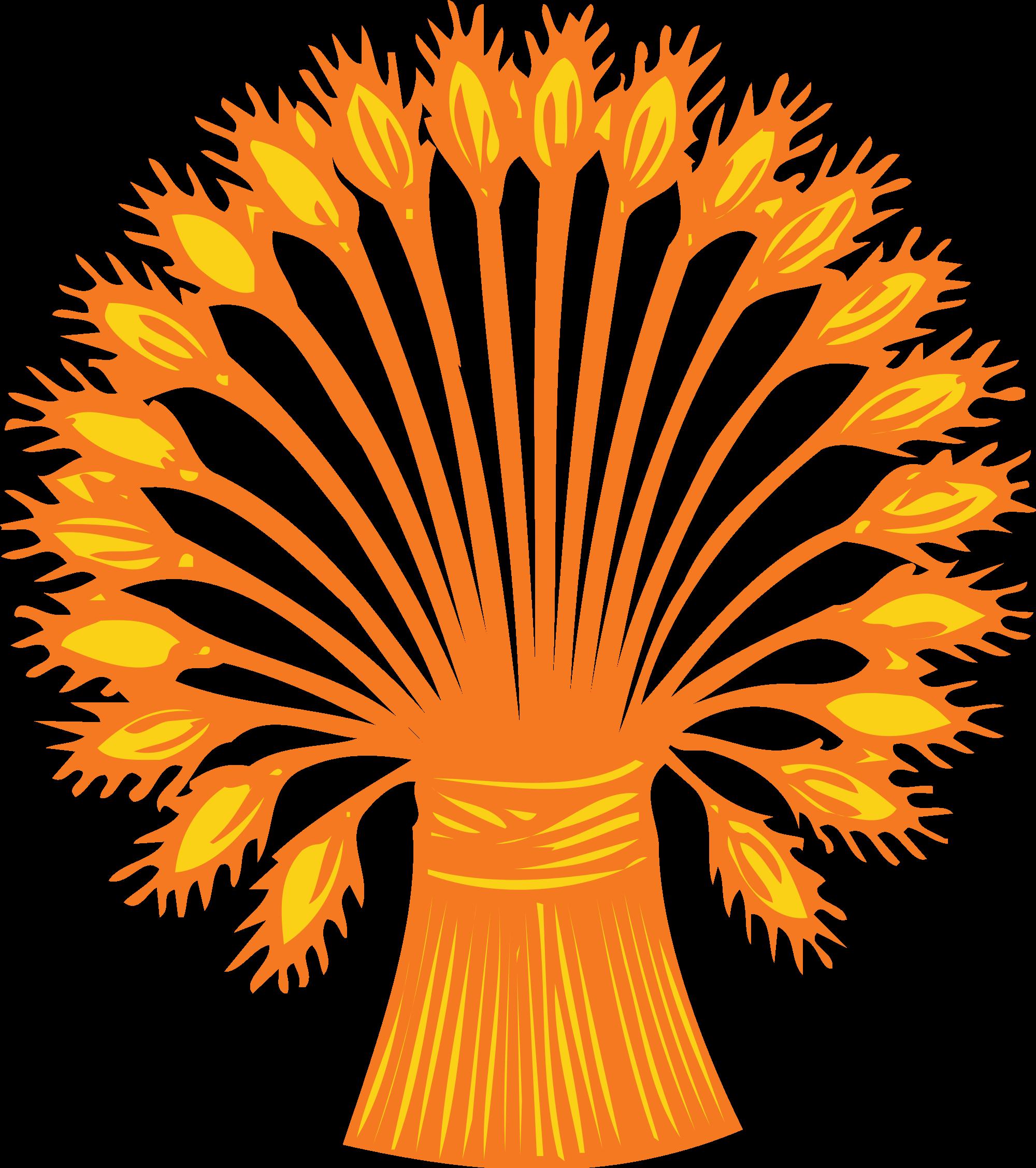File heraldic branch wikimedia. Wheat clipart svg