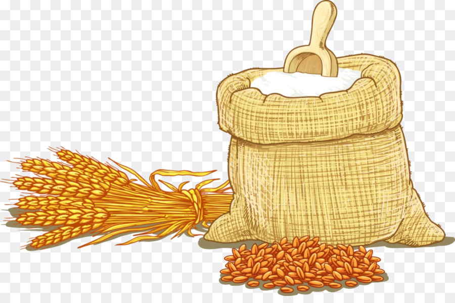 Cartoon png download free. Wheat clipart wheat flour