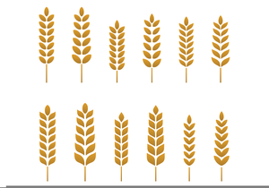 Wheat clipart wheat stalk. Free images at clker