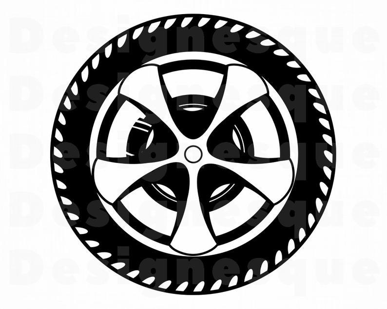 Svg car tire files. Wheel clipart