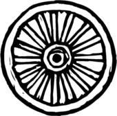 Wheels clip art library. Wheel clipart black train