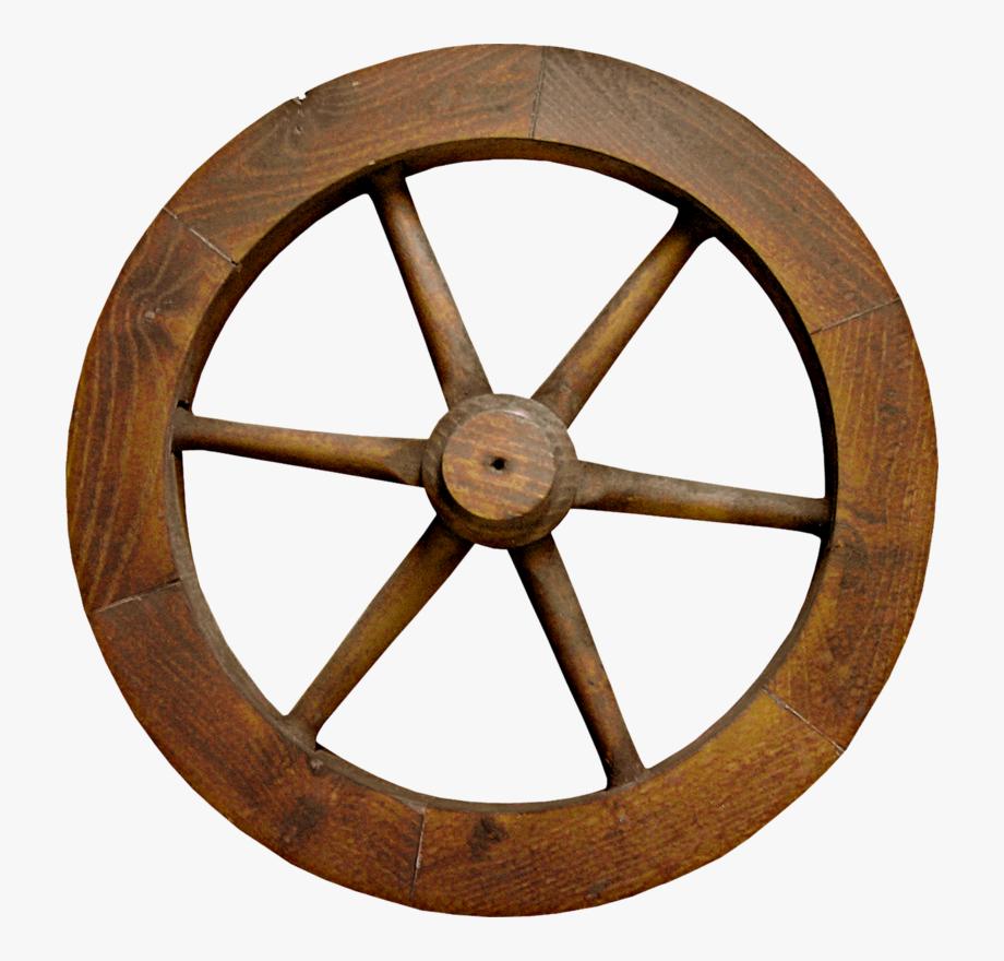 Wild west wagon free. Wheel clipart brown