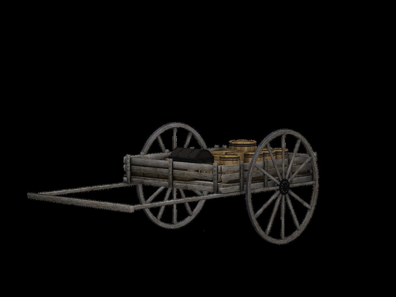 Cattle ox clip art. Wheel clipart bullock cart