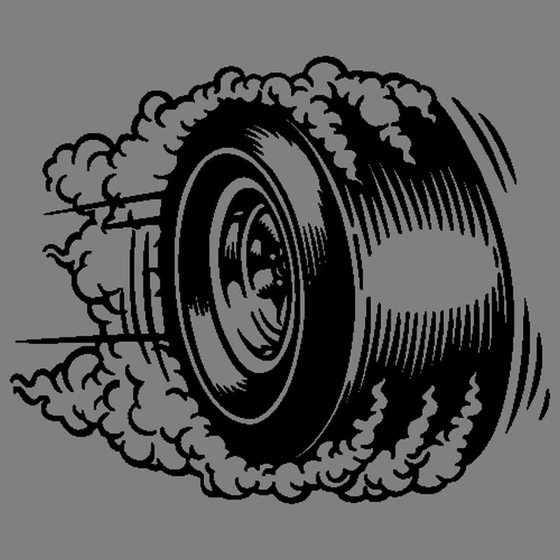Tire car clip art. Wheel clipart burnout