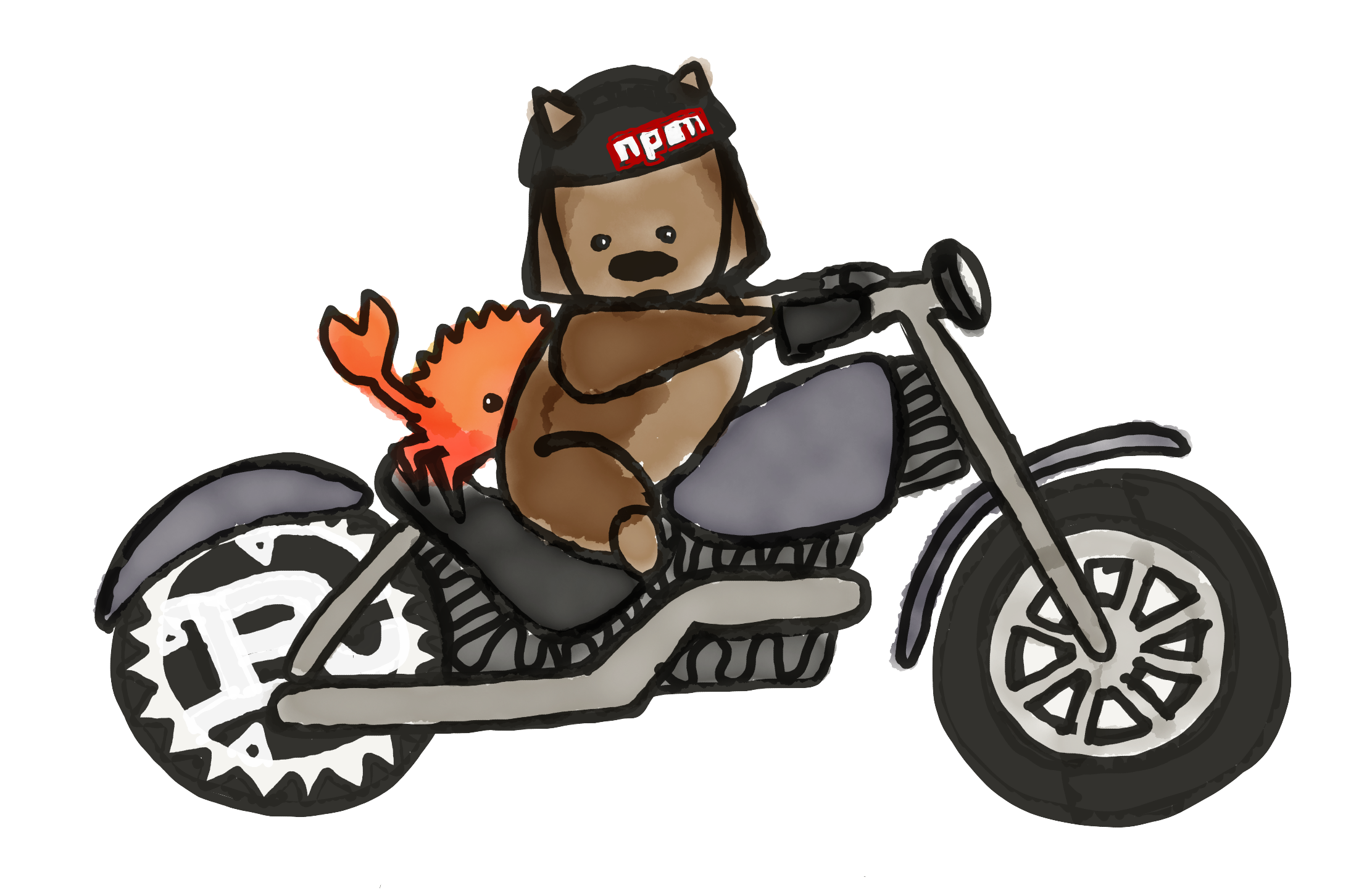 The ag deck motorcycle. Wheel clipart burnout