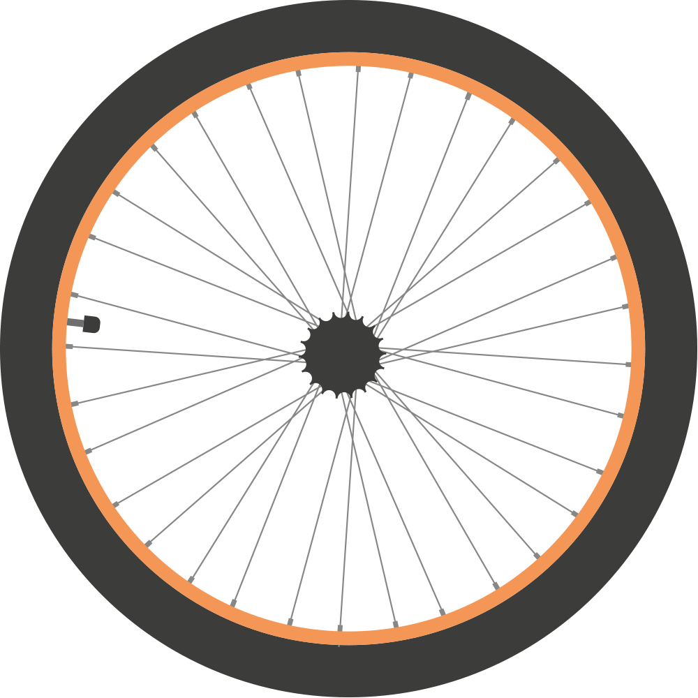 Bike free download best. Wheel clipart bycycle