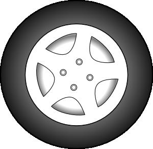 Wheel clipart cartoon. Chrome rims clip art