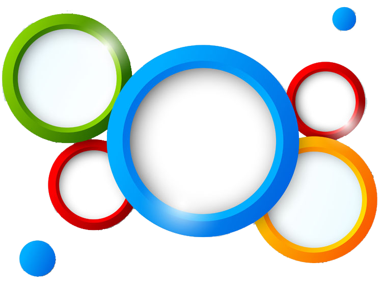 Color colored circles transprent. Wheel clipart circle thing