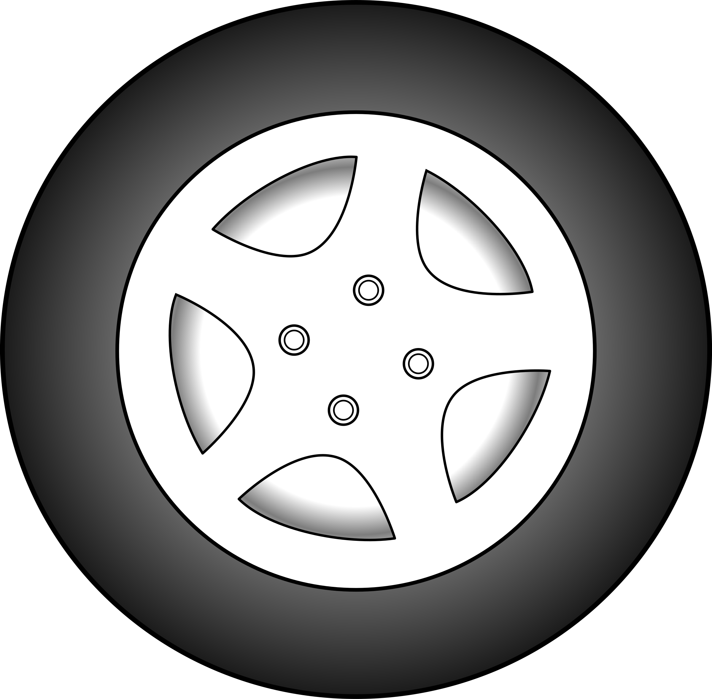 . Wheel clipart circle thing