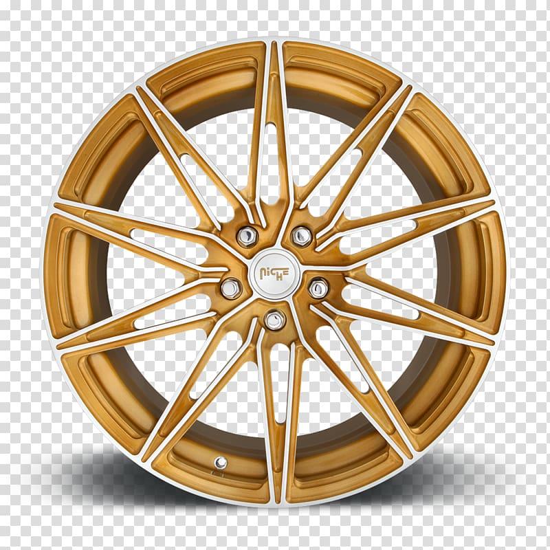 Alloy spoke rim circle. Wheel clipart cirle