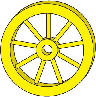Wheel clipart cirle.  clip art clipartlook