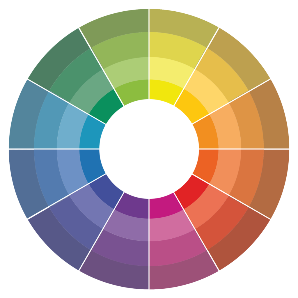 Wheel clipart color wheel. An introduction to colour