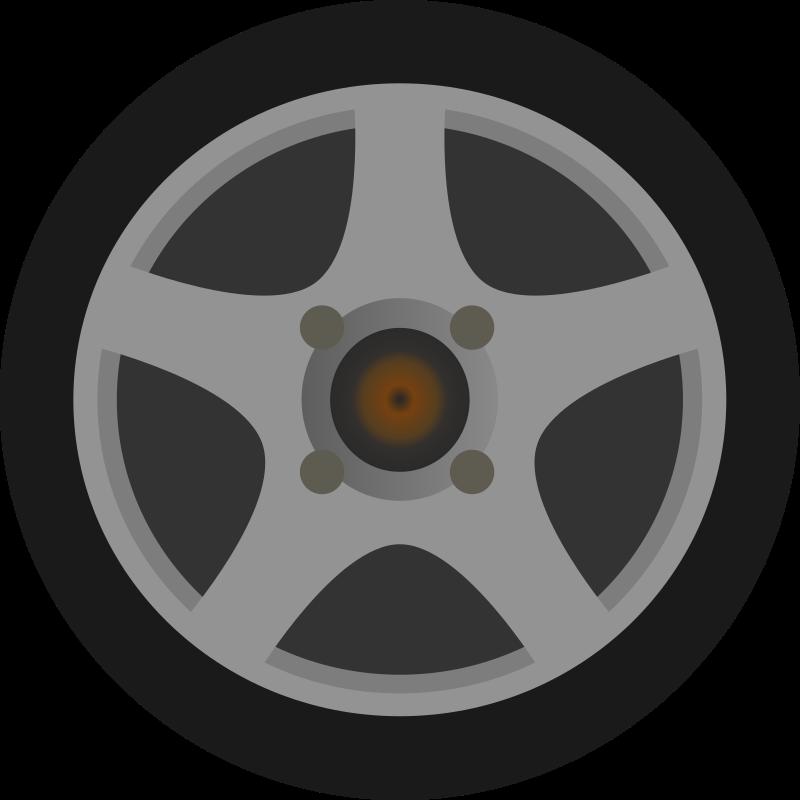 Car gulong free on. Wheel clipart drawing