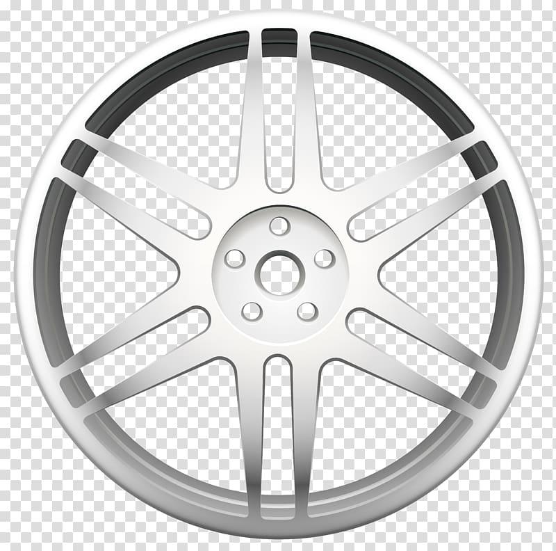 Wheel clipart hubcap. Alloy rim spoke car