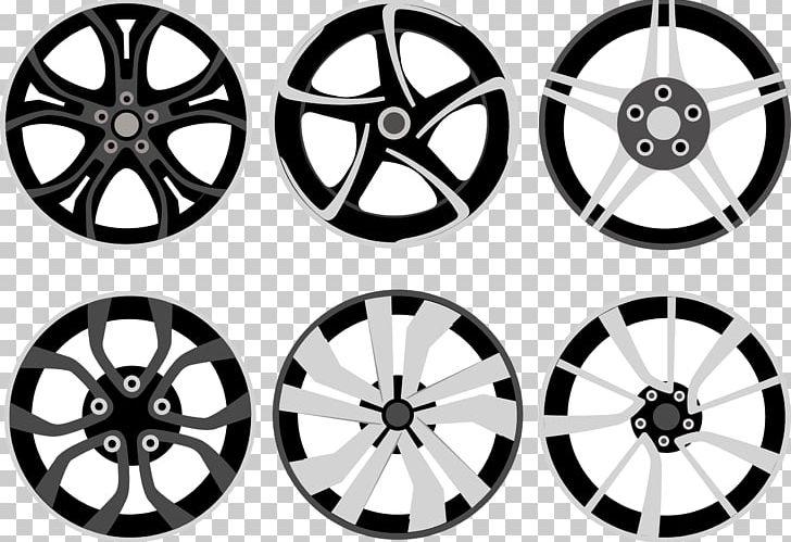 Car alloy rim spoke. Wheel clipart hubcap