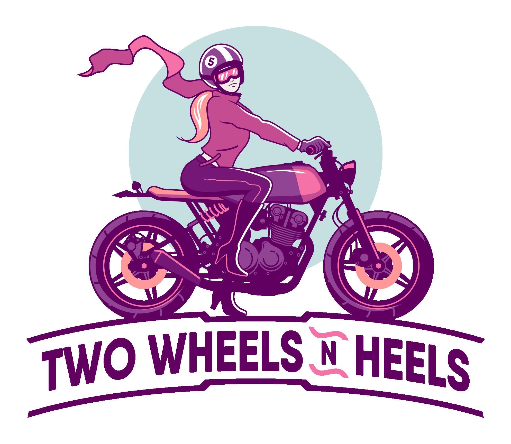 Two wheels n heels. Wheel clipart motorcycle wheel