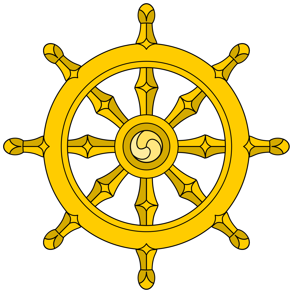 Wheel clipart persian. Buddhist symbolism wikipedia the