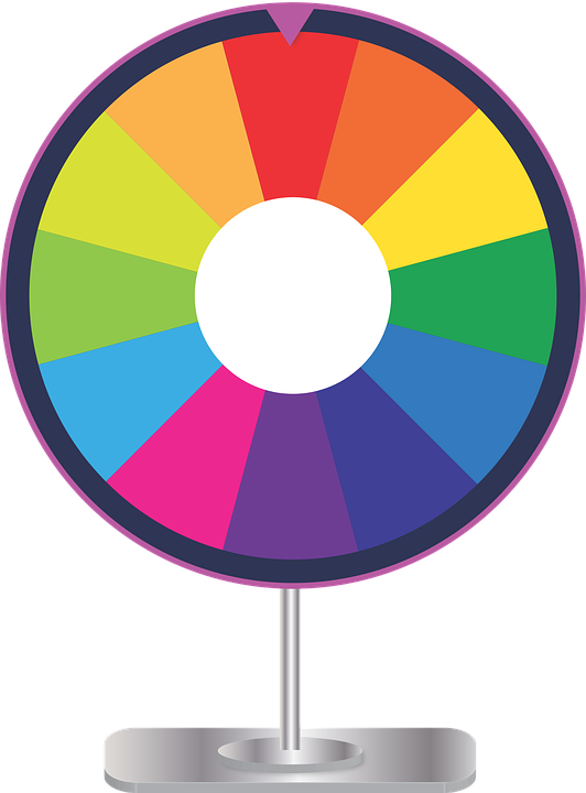 Wheel clipart raffle. Game prize free voilamart