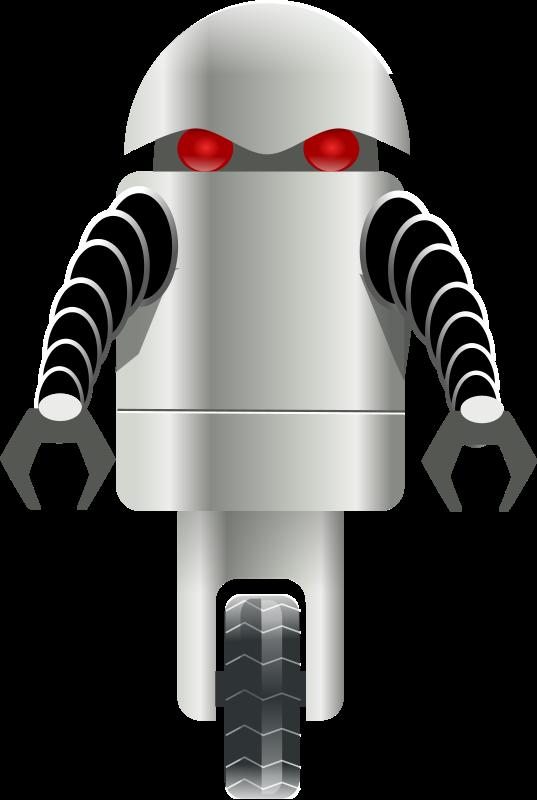 Wheel clipart robot wheel. Carrying things bot libre