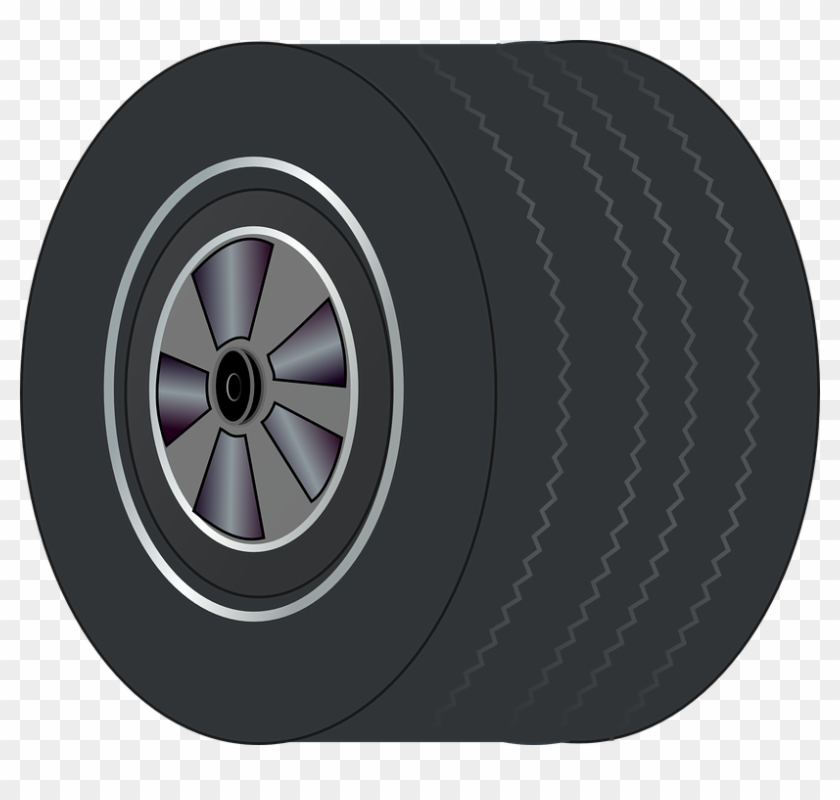 Wheel clipart rubber tire. Wide tyre isolated automobile