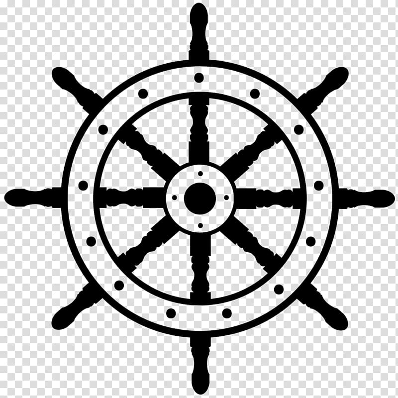 Wheel clipart sailboat. Ship s boat steering