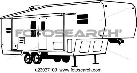 Fifth camper clip art. Wheel clipart sketch
