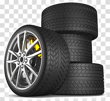 Wheel clipart stacked tire. Four black automotive tires