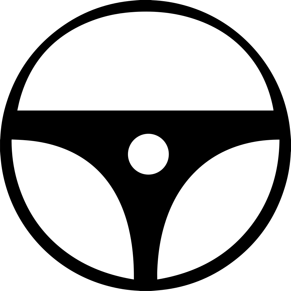 Wheel clipart steering wheel. Svg png icon free