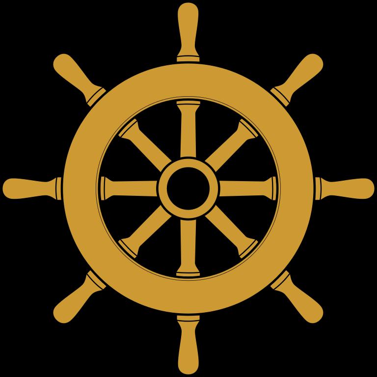 Wheel clipart steering wheel. File ship svg wikimedia