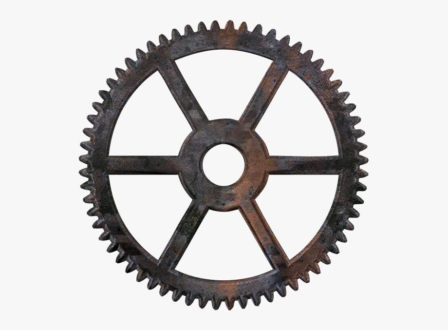 Wheel clipart time wheel. Gear steampunk png free