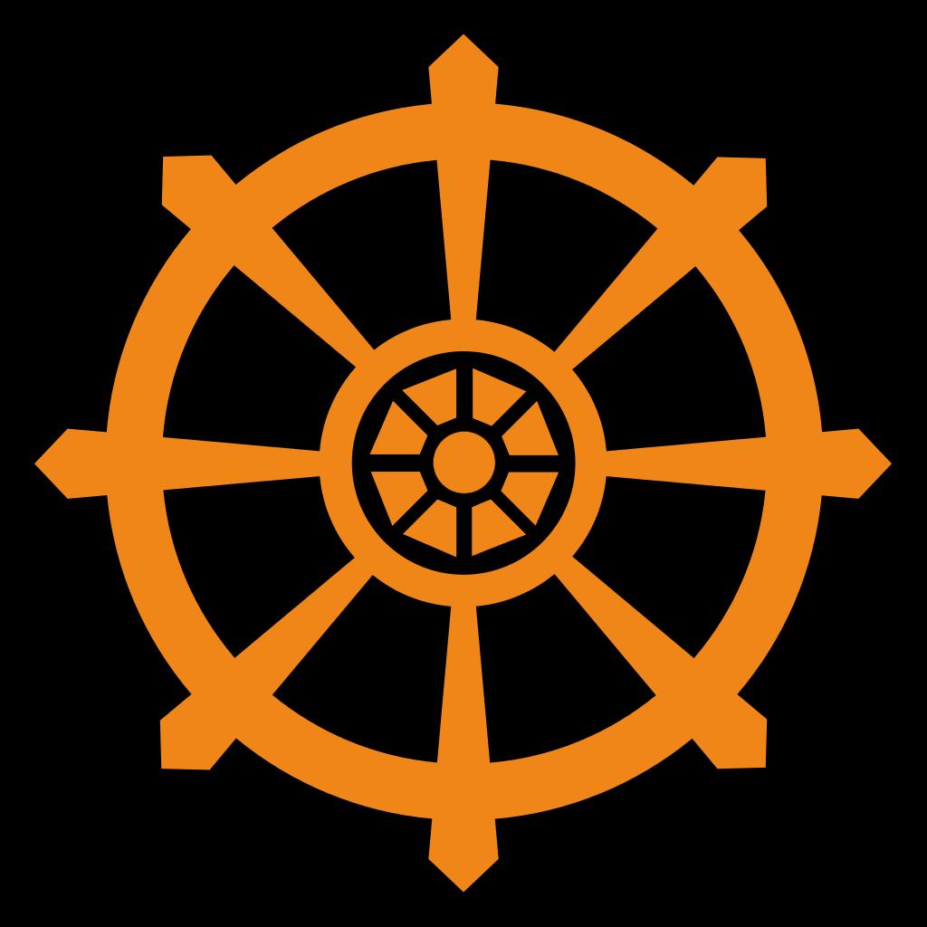 Wheel clipart time wheel. File dharma svg wikipedia