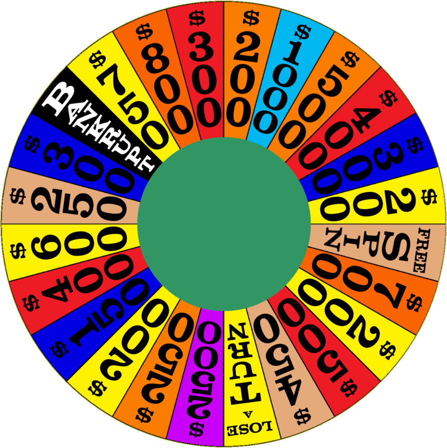 Wheel clipart time wheel. Of fortune deluxe nighttime
