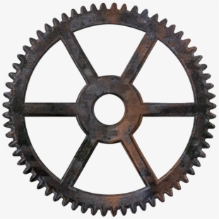 Gear steampunk png free. Wheel clipart time wheel