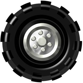 Wheel clipart truck wheel. Free tire cliparts download