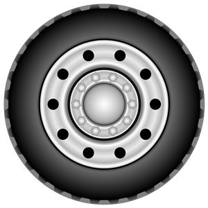 Rim tyre for a. Wheel clipart truck wheel