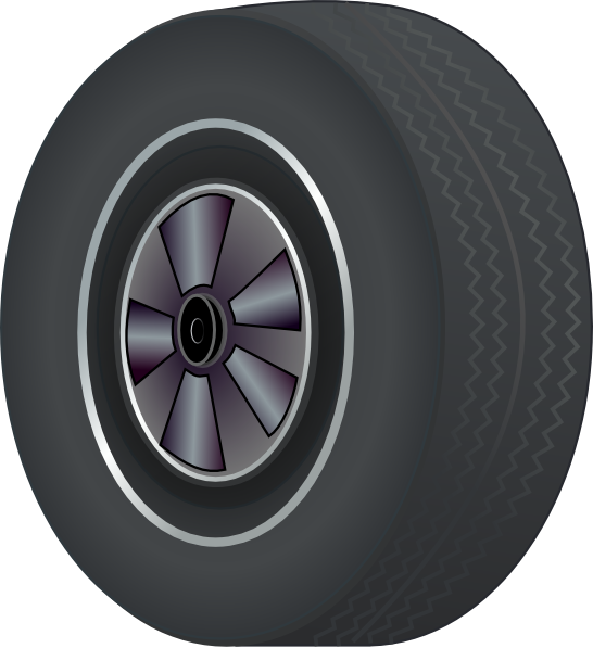 Wheel clipart tyre. Tire clip art at